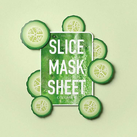 KOCOSTAR Cucumber Slice Mask, Face Masks, London Loves Beauty