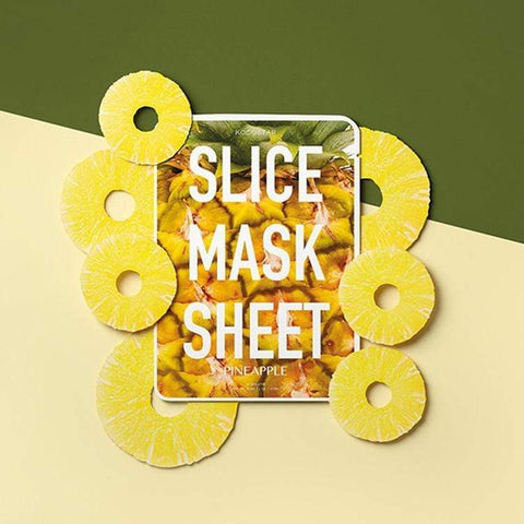 KOCOSTAR Pineapple Slice Mask, Face Masks, London Loves Beauty