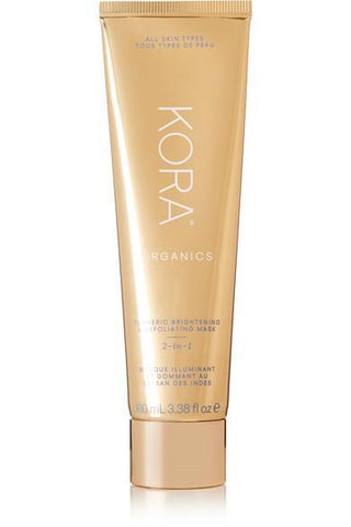 Kora Organics Turmeric Brightening and Exfoliating Mask, 100ml, Face Masks, London Loves Beauty
