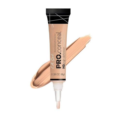 L.A. Girl Cosmetics Concealer L.A. Girl Pro Conceal HD High Definition Concealer - Nude (0.28oz | 8g)