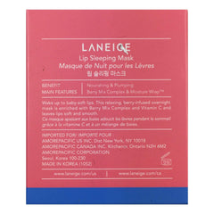 Laneige lip mask LANEIGE Lip Sleeping Mask - Berry 0.7 oz | 20 g