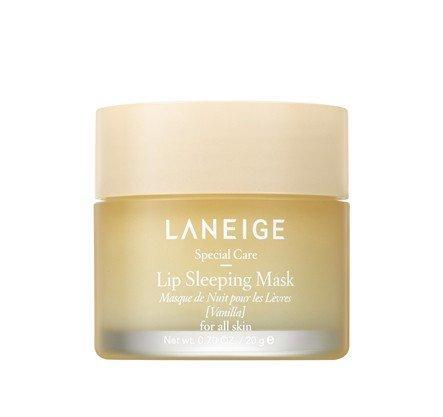 LANEIGE Lip Sleeping Mask Vanilla, 0.7 oz | 20 g, lip mask, London Loves Beauty