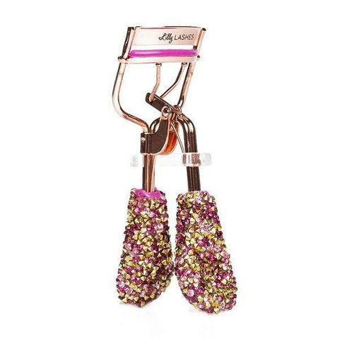 Lilly Lashes - Bling on the Glam Eyelash Curler Pink, Eyelash curler, London Loves Beauty