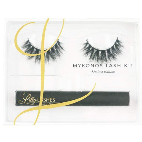 Lilly Lashes Mykonos Lash & Glue Kit - Limited Edition, False eyelashes, London Loves Beauty