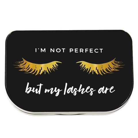 "LILLY LASHES ""I'm not perfect"" Lash Storage Case, Tools & Accessories, London Loves Beauty"