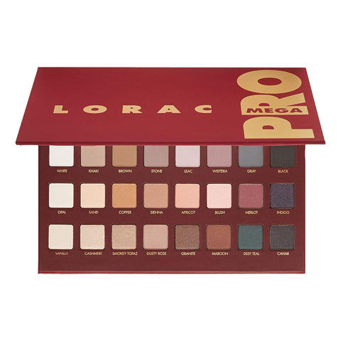 LORAC Mega PRO Palette, eyeshadow palette, London Loves Beauty