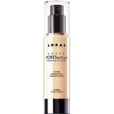 Lorac foundation Lorac Sheer POREfection Foundation Fair