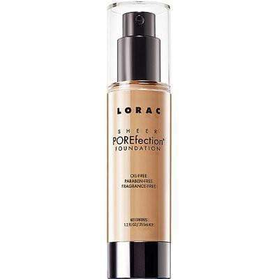 Lorac Sheer POREfection Foundation Golden Light, foundation, London Loves Beauty