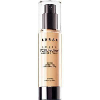 Lorac foundation Lorac Sheer POREfection Foundation Light