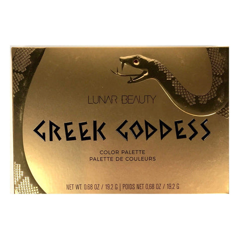Lunar Beauty eyeshadow palette LUNAR BEAUTY Greek Goddess Eyeshadow Palette