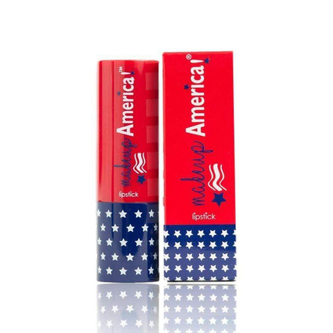 Makeup America! Lipstick MAKEUP AMERICA! Star Spangled Split Red/White Lipstick