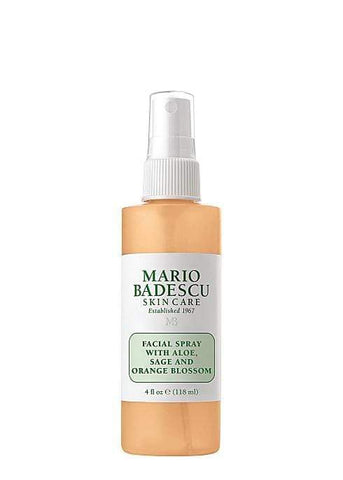 Mario Badescu Facial Spray With Aloe, Sage And Orange Blossom 118ml, Setting Spray, London Loves Beauty