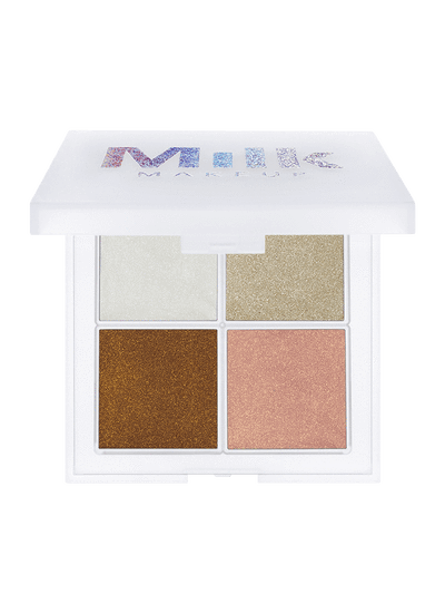 MILK MAKEUP Glitter Glaze Quad - Party Up, Highlighters, London Loves Beauty