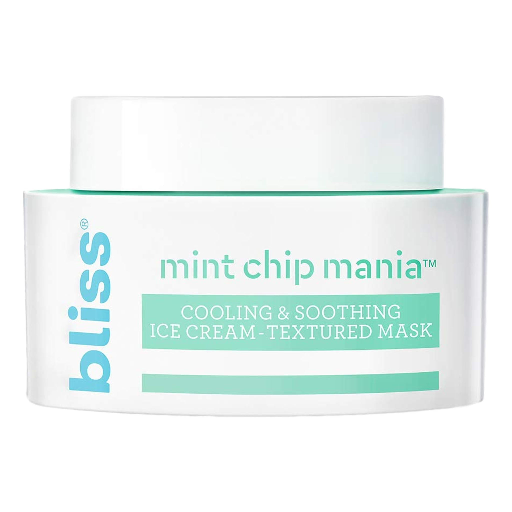BLISS Mint Chip Mania Mask, Face Masks, London Loves Beauty