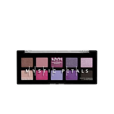 NYX Professional Makeup Mystic Petals Shadow Palette, eyeshadow palette, London Loves Beauty