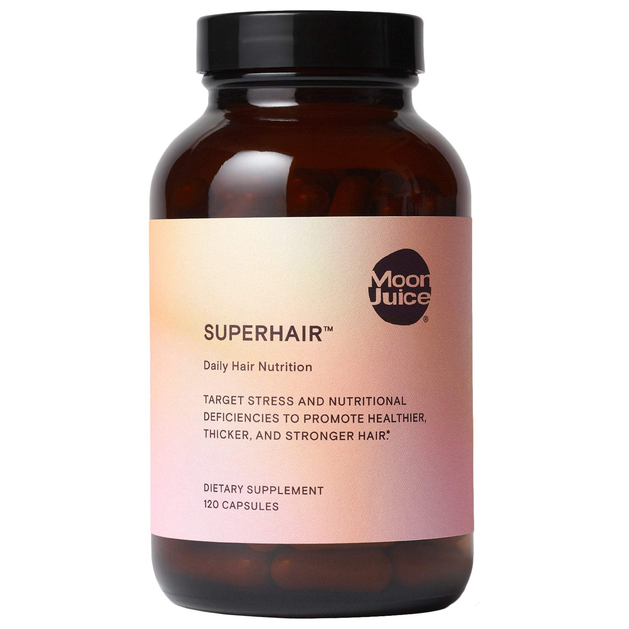 MOON JUICE SuperHair™ Daily Hair Nutrition, 120 Capsules, Hair Care, London Loves Beauty