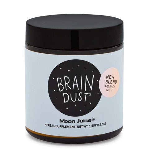 MOON JUICE Brain Dust - new blend, 1.5oz, Supplements, London Loves Beauty