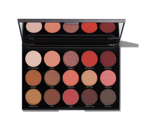 Morphe 15H Happy Hour Eyeshadow Palette, eyeshadow palette, London Loves Beauty