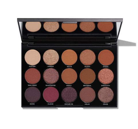 Morphe eyeshadow palette Morphe 15N Night Master Eyeshadow Palette