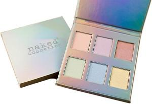 Naked Cosmetics Holographic Highlighter Palette, Face Palette, London Loves Beauty