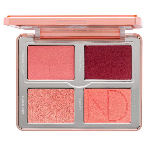 NATASHA DENONA Bloom Blush & Glow Palette 13.7 g | 0.483 oz, Blush, London Loves Beauty