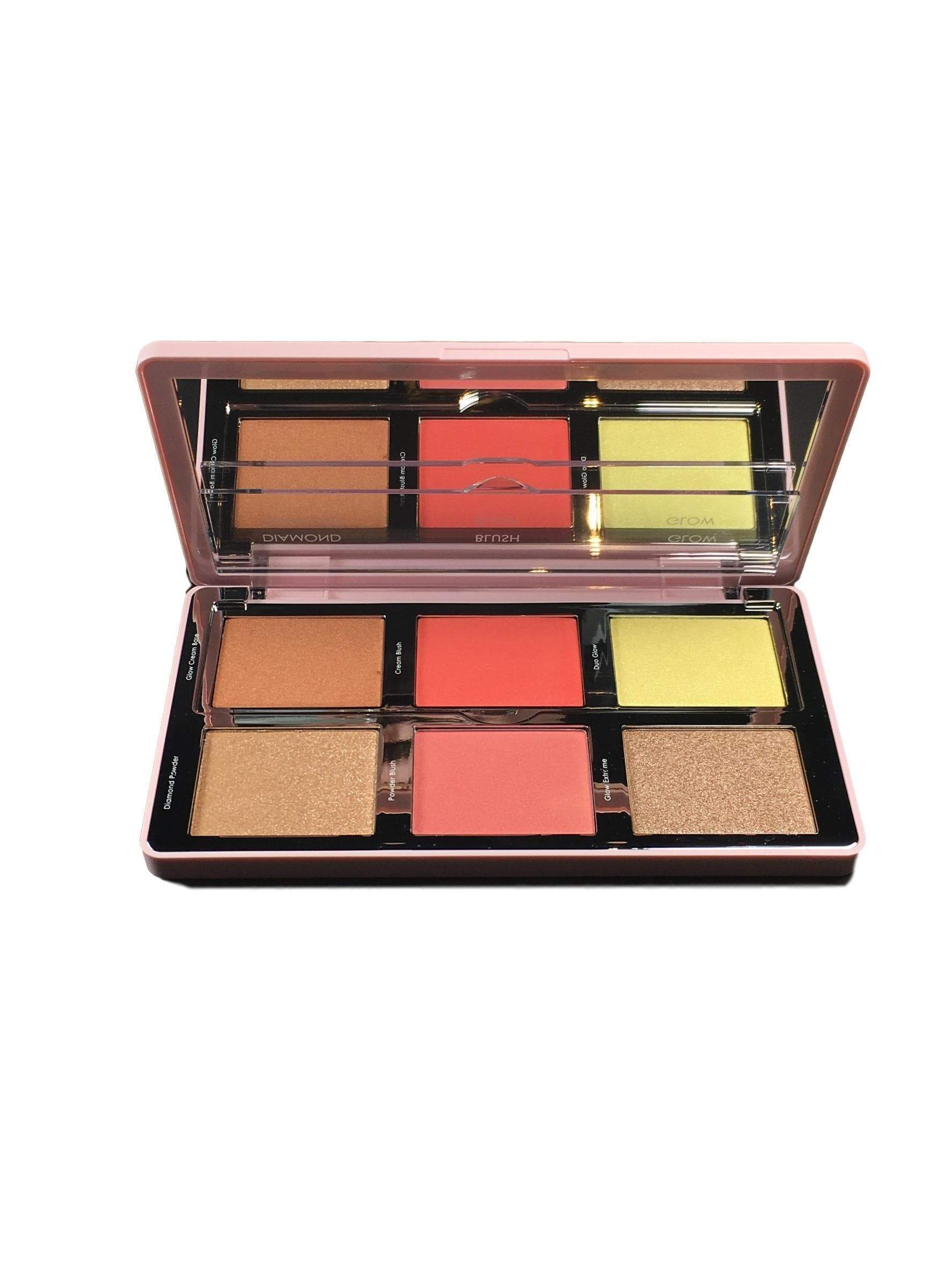 Natasha Denona Diamond & Blush Palette - Citrus, Blush, London Loves Beauty