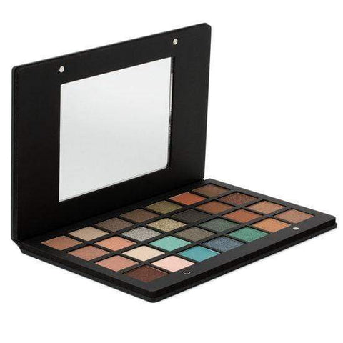 Natasha Denona Eyeshadow Palette 28: Green | Brown, eyeshadow palette, London Loves Beauty
