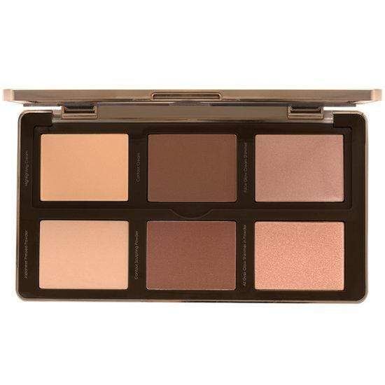NATASHA DENONA Sculpt & Glow Palette - Light Medium 01, eyeshadow palette, London Loves Beauty