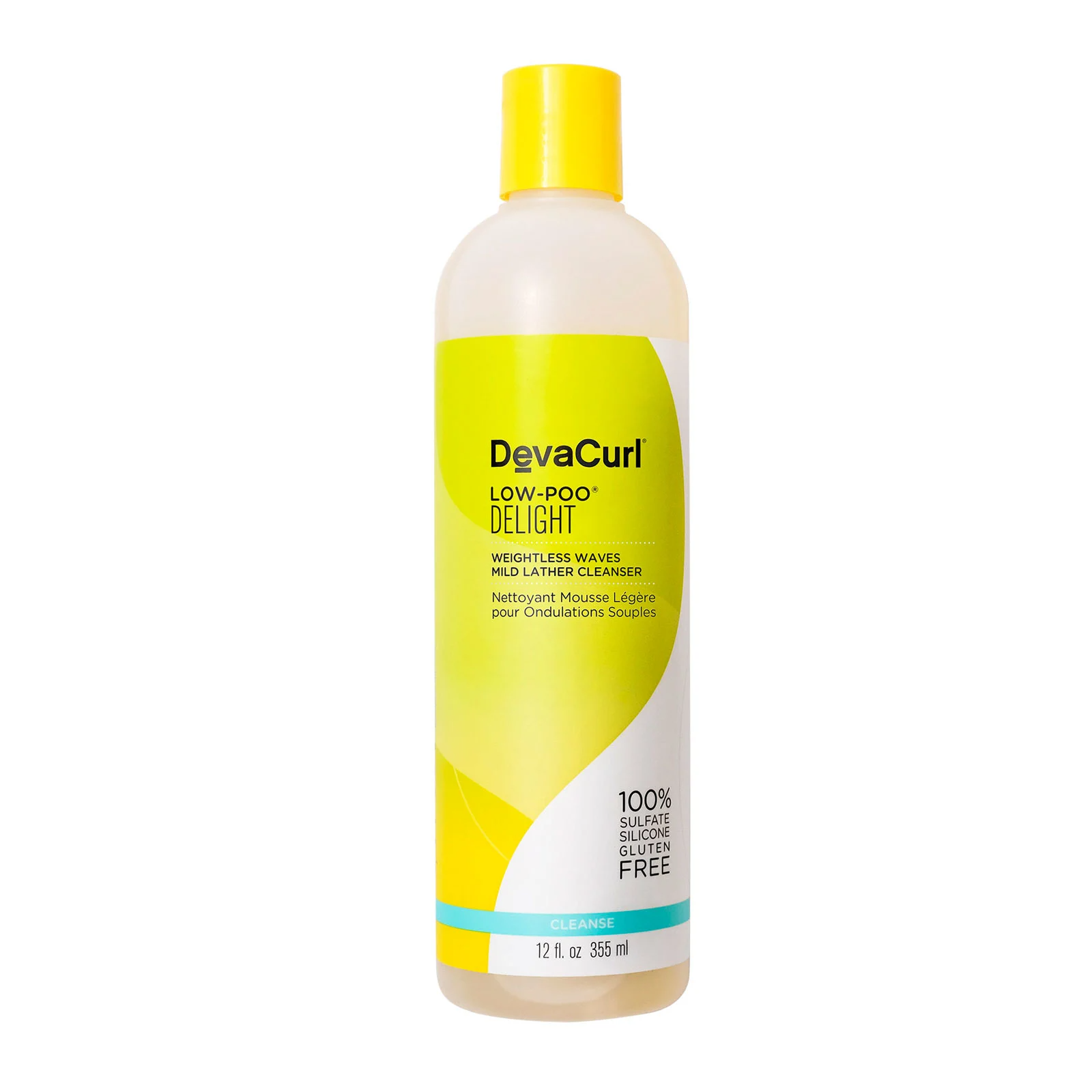 DevaCurl Low-Poo Delight Weightless Waves Mild Lather Cleanser, 360ml, Hair Care, London Loves Beauty