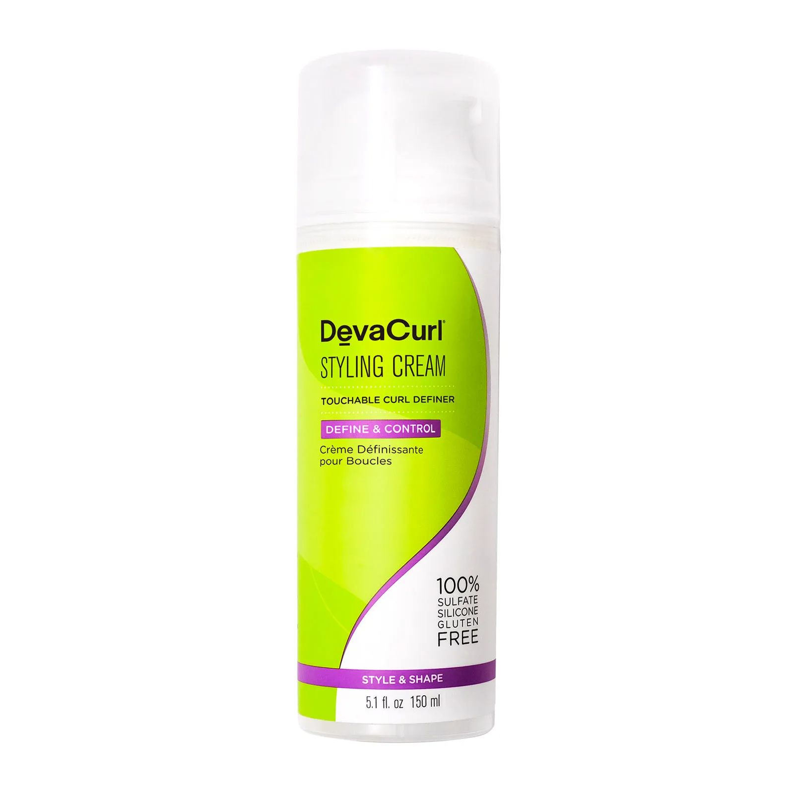DevaCurl Styling Cream Touchable Curl Definer, Hair Care, London Loves Beauty