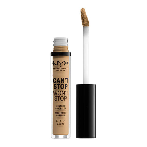 NYX Professional Makeup Can't Stop Won't Stop Contour Concealer - Beige, Concealer, London Loves Beauty