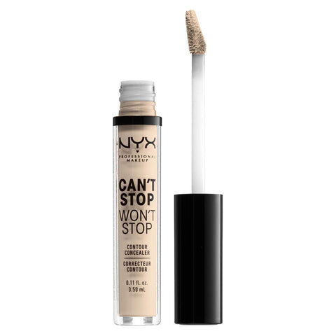 NYX Professional Makeup Can't Stop Won't Stop Contour Concealer - Fair, Concealer, London Loves Beauty