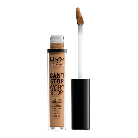 NYX Professional Makeup Can't Stop Won't Stop Contour Concealer - Golden Honey, Concealer, London Loves Beauty