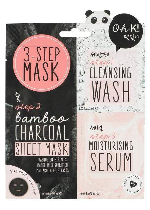 Oh K! 3 Step Mask Set, Face Masks, London Loves Beauty