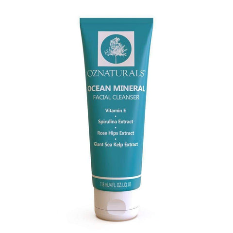 OZNaturals Ocean Mineral Facial Cleanser, cleanser, London Loves Beauty