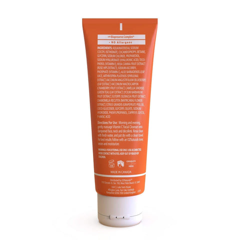 OZNaturals Vitamin C Cleanser, cleanser, London Loves Beauty