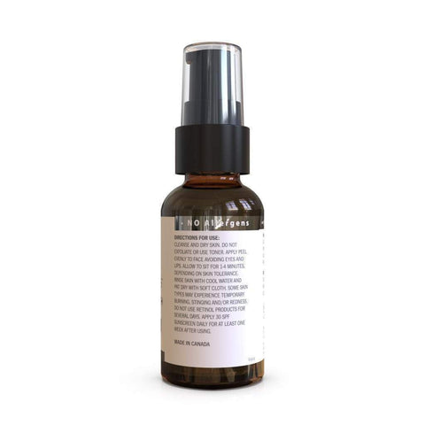 OZNaturals Glycolic 30% Medium Strength Micro Peel, Exfoliant, London Loves Beauty