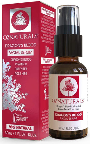 Oz Natrals Dragon's Blood Serum For Face, Face Serum, London Loves Beauty