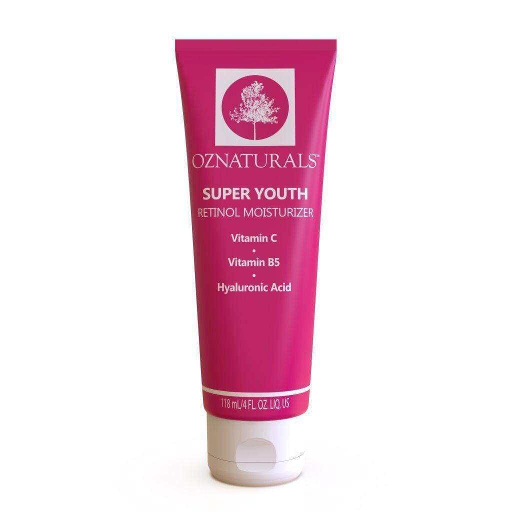 OZNaturals Super Youth Retinol Facial Moisturiser (4 fl. oz | 4.00 Fl Oz), Moisturizer, London Loves Beauty