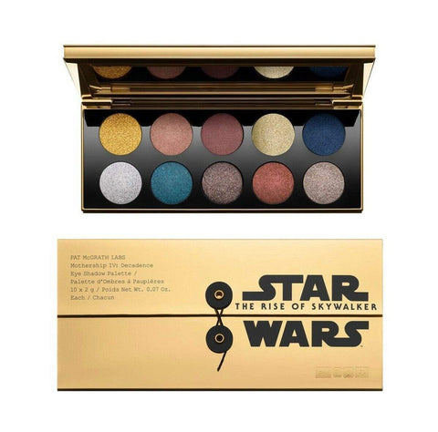 PAT MCGRATH LABS Star Wars The Rise Of Skywalker Mothership IV Decadence Eyeshadow Palette, eyeshadow palette, London Loves Beauty