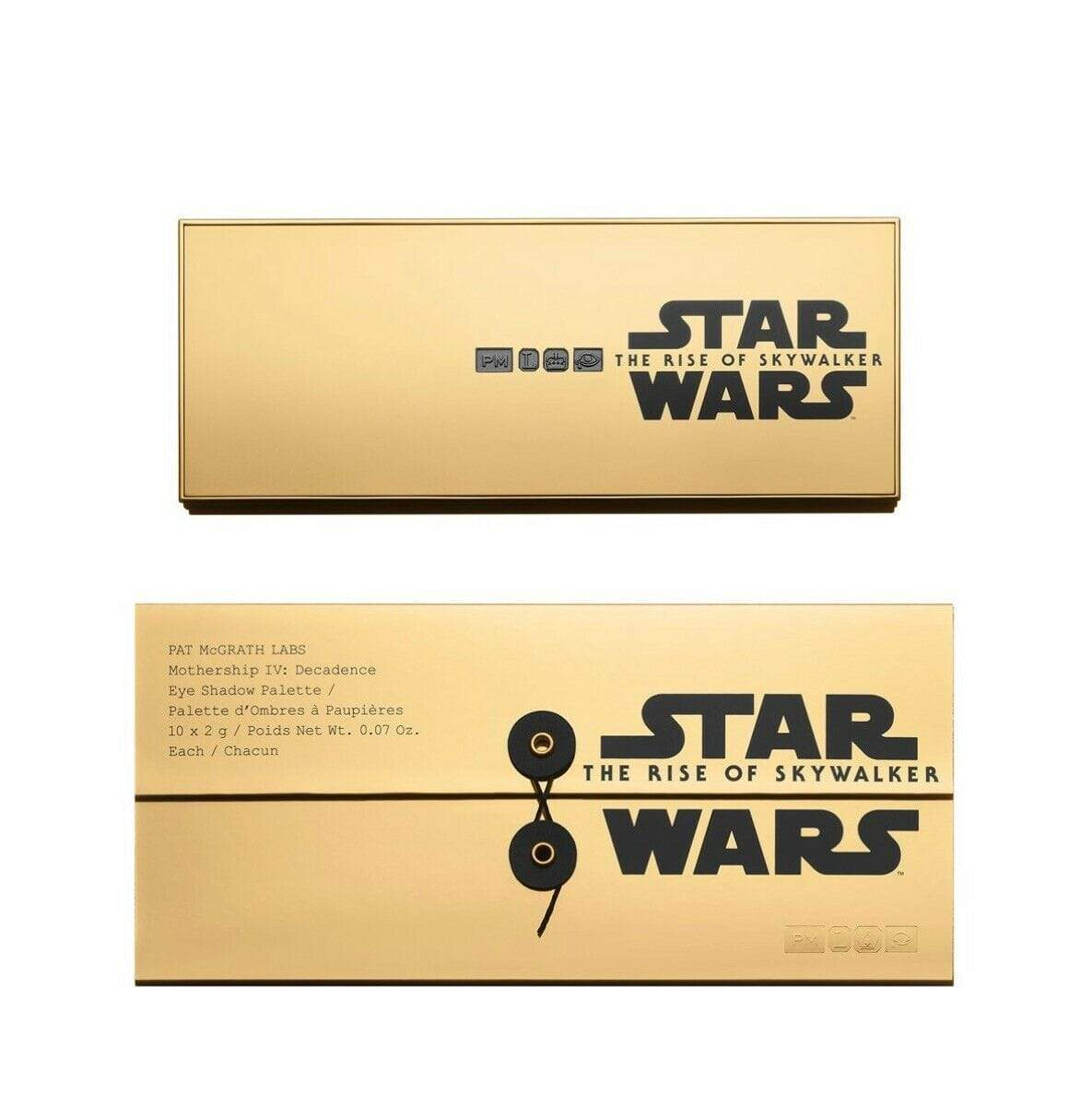 PAT MCGRATH LABS eyeshadow palette PAT MCGRATH LABS Star Wars The Rise Of Skywalker Mothership IV Decadence Eyeshadow Palette