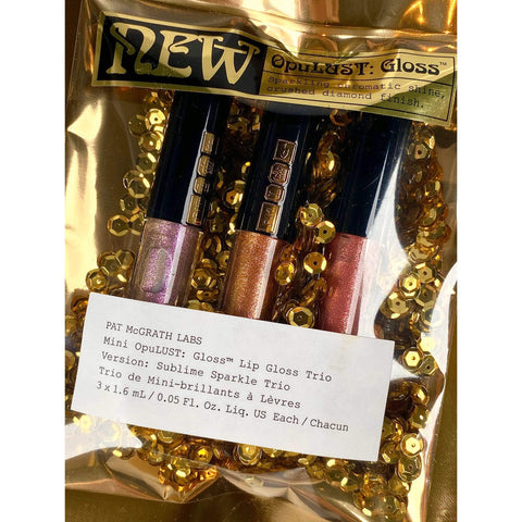 Pat Mcgrath Labs Mini OpuLUST Lip Gloss Trio - Sublime Sparkle, lip gloss, London Loves Beauty