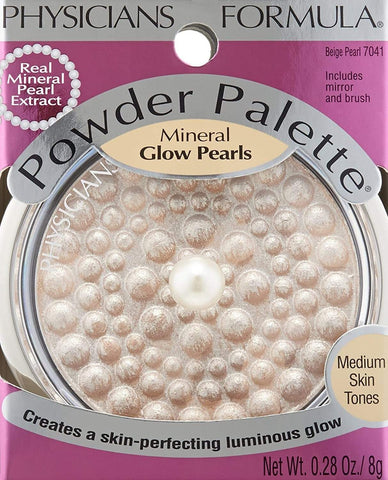 PHYSICIANS FORMULA Powder Palette Mineral Glow Pearls, Beige Pearl, highlighter, London Loves Beauty