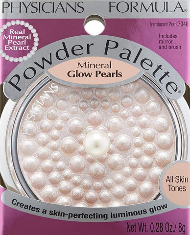 PHYSICIANS FORMULA Powder Palette Mineral Glow Pearls, Translucent Pearl, highlighter, London Loves Beauty