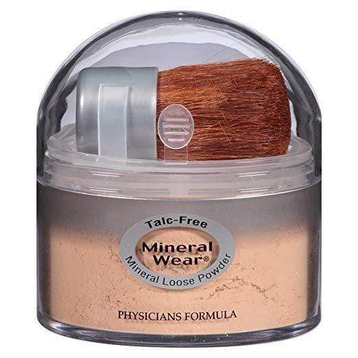 Physicians Formula Mineral Wear Talc-Free Loose Powder - Natural Beige, 0.49oz, Setting Powder, London Loves Beauty