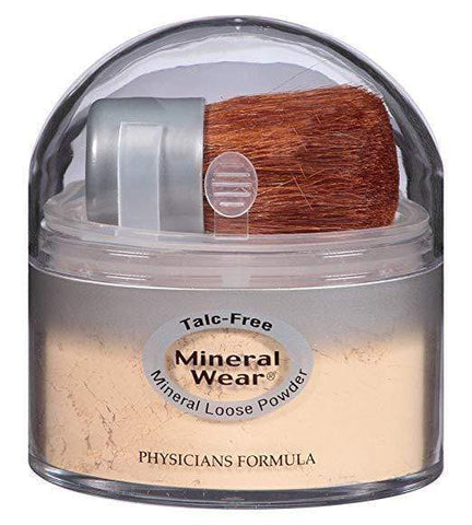 Physicians Formula Mineral Wear Talc-Free Loose Powder - Translucent Light, 0.49oz, Setting Powder, London Loves Beauty