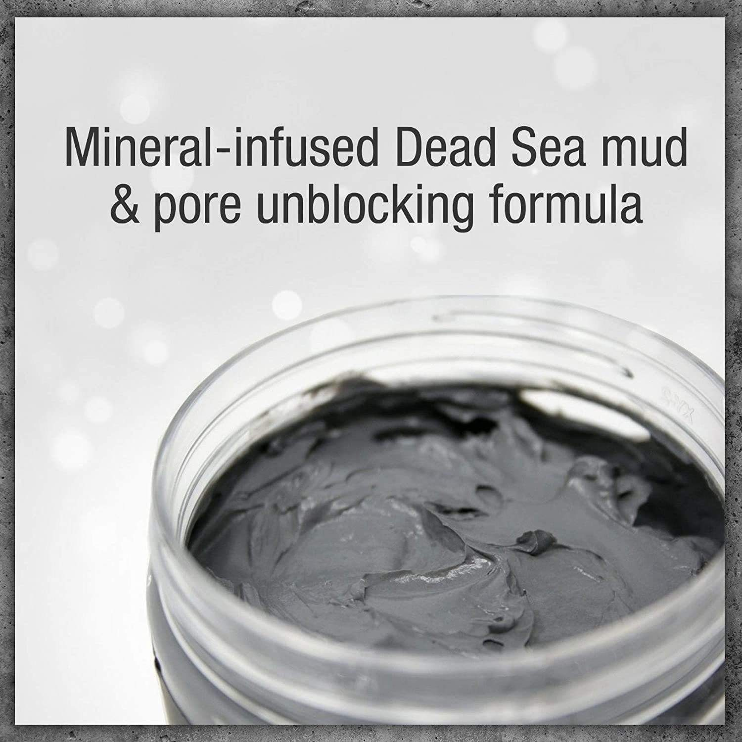Pure Body Naturals Beauty Dead Sea Mud Mask for Facial Treatment, Skin Care, London Loves Beauty