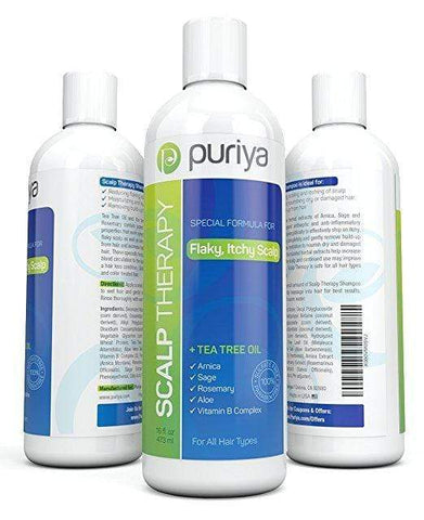 Puriya Natural Dandruff Shampoo (16oz), Hair Care, London Loves Beauty