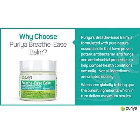 Puriya Breathe-Ease Balm 2.0oz, Skin Care, London Loves Beauty
