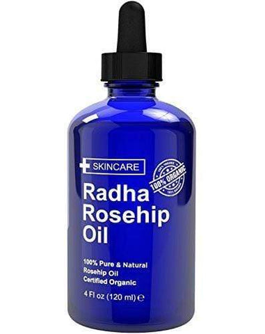 Radha Beauty Rosehip Oil (4 oz), face oil, London Loves Beauty
